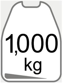 1000kg