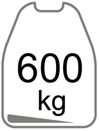 600kg
