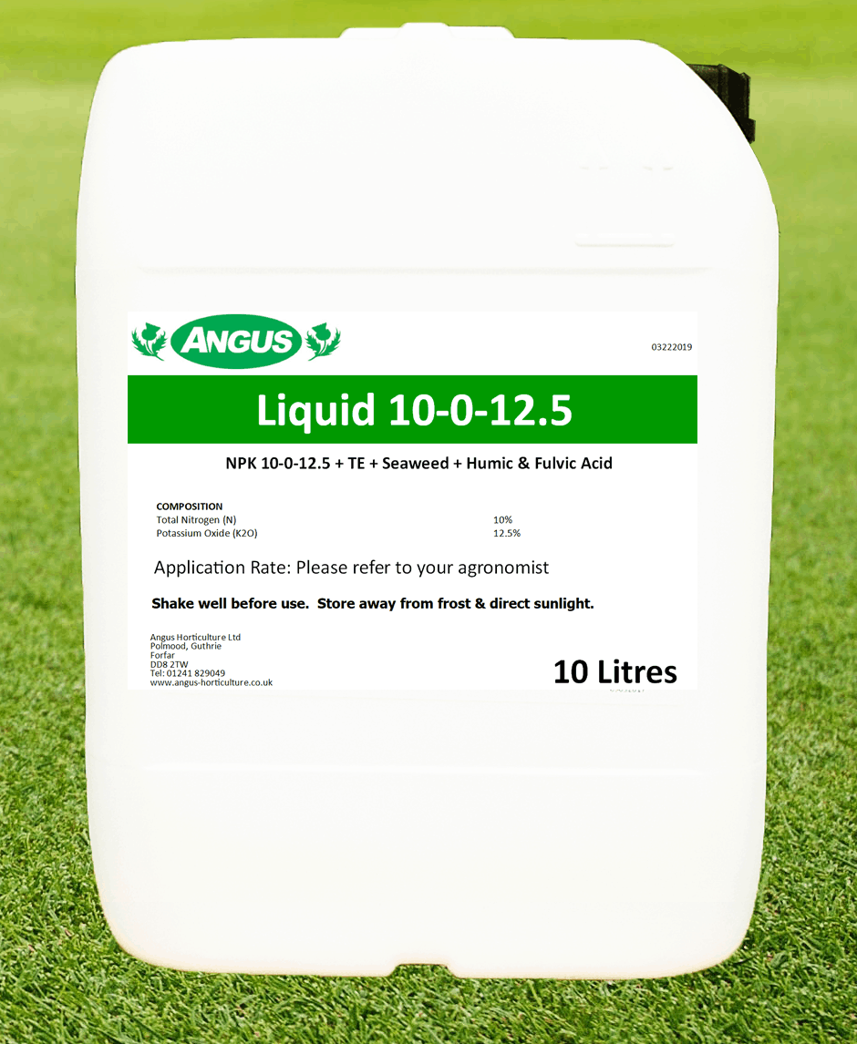 Product image of Turf Care 10-0-12.5 and humates
