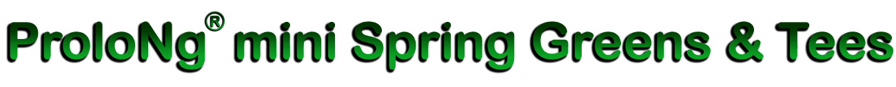 ProloNg® mini Spring Greens & Tees 11-5-5