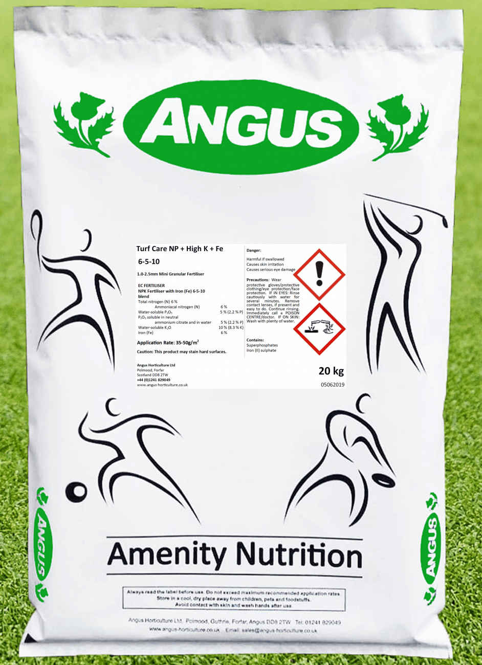 Product image of Turf Care N, P & High K & Fe